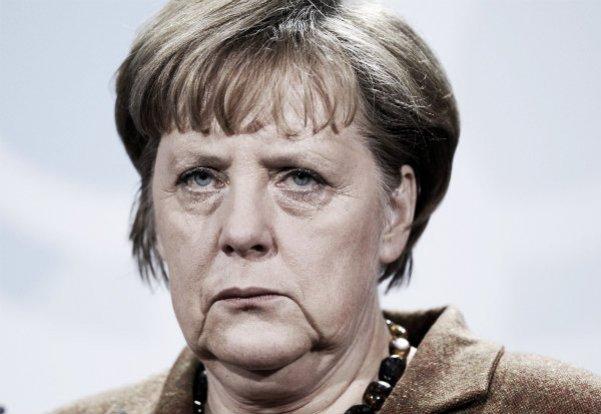 Merkel face
