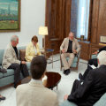 SYRIA: UK Peace Delegation Meet with President Assad