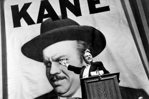 Orson Wells as Citizen Kane (1941)