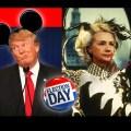 Trump vs Clinton 2016: Mickey Mouse vs Cruella de Vil