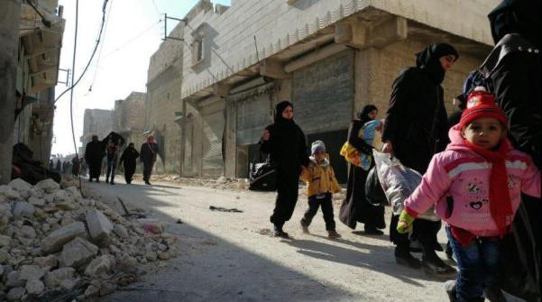 aleppo-escape4 Syrii
