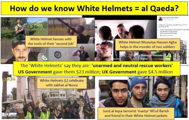 12 White Helmets Terrorists