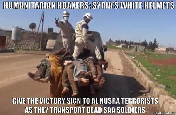 15 White Helmets Terrorists