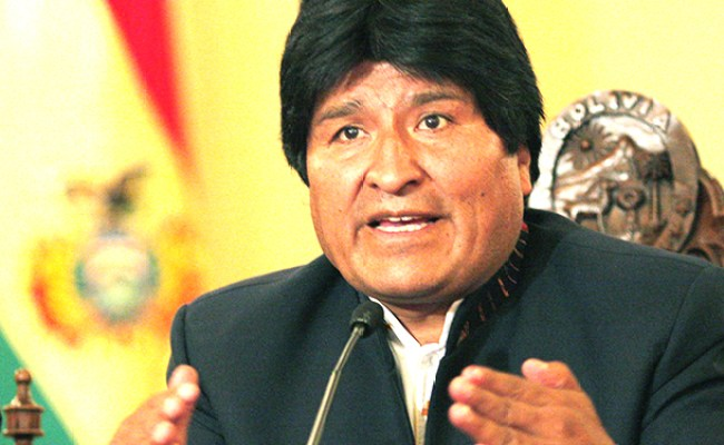 Bolivia S Evo Morales Declares Total Independence From