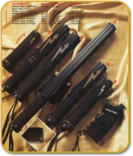 Elektrické zbraně nejen pro policii. Elektrické paralyzéry jsou v některých zemích prakticky standardním vybavením policejných sborů a dají se běžně zakoupit i pro osobní sebeobranu.