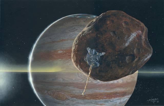 Září na obloze jako nejnápadnější těleso po Slunci, Měsíci a Venuši.