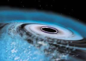 Ohnivá koule, kterou nedávno na malý okamžik vytvořili američtí odborníci v newyorském urychlovači částic, měla údajně podobné rysy jako černá díra!