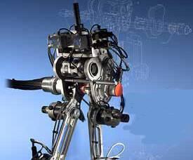 Robota, který se pohybuje jako člověk, v těchto dnech představili američtí odborníci z univerzity v Michiganu. Stroj dokonce dokáže udržet i rovnováhu, pokud do něj strčíte.