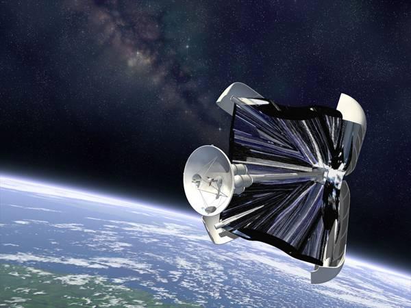 Éra vesmírných raketoplánů na sluneční pohon právě začíná. Cosmos 1, který ponese osm solárních plachet, už brzy vyrazí do kosmu.