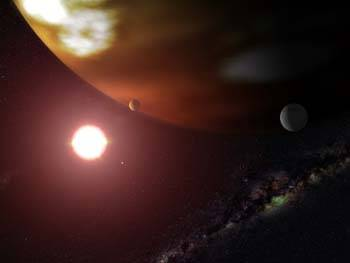 Američtí astronomové nedávno objevili dosud nejmenší planetu, která obíhá kolem hvězdy ležící mimo naši sluneční soustavu.