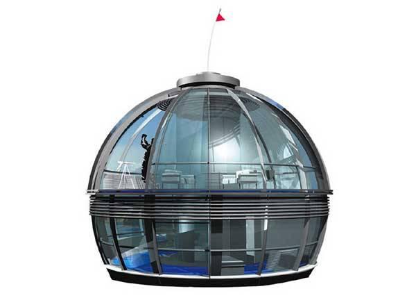 Dokážete si představit, že bydlíte v domě tvaru koule, kterou můžete přemístit, kam chcete? 21. STOLETÍ objevilo dva naprosto rozdílné koncepty přesně takových obydlí.