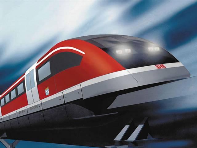 Nedávno byl na testovací trati v německém Emslandu (TVE) schválen do provozu supermoderní vlak Transrapid.