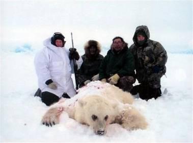 Kanadští eskymáčtí lovci skolili zajímavou kořist – mezidruhového křížence mezi ledním medvědem a grizzlym.