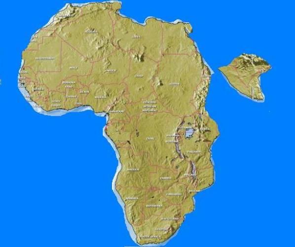 Podle amerických, britských a etiopských geologů se za 10 milionů let oddělí východ Afriky od zbytku kontinentu.