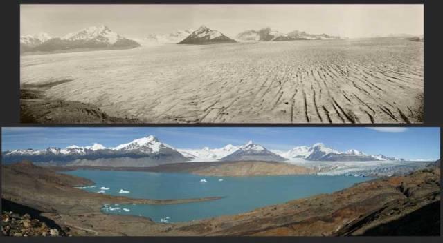 Ač mezi mnohými lidmi stále panují pochybnosti ohledně fenoménu globálního oteplování, hmatatelné důsledky jeho existence jsou patrné. Asi nejkřiklavějším příkladem globálního oteplování je tání ledovců.