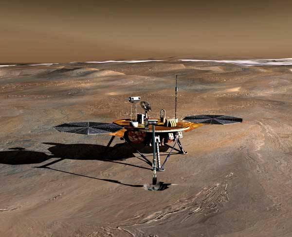 Na průzkum planety Mars můžeme poslat družicové sondy, které budou neúnavně kroužit na jeho oběžné dráze. Stejně tak můžeme poslat přistávací moduly, které dosednou na jeho povrch. Ale co to zkusit i trochu jiným, méně tradičním způsobem?