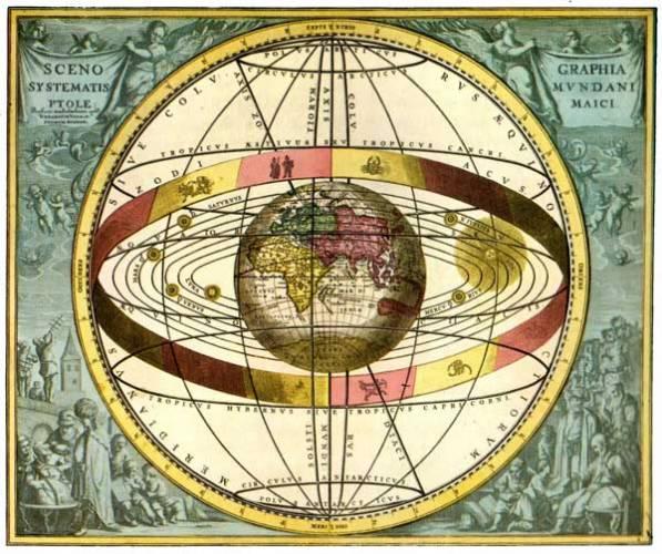 Řadu staletí, kdy církev měla vždy pravdu, byl její výklad všeho nad naší hlavou jednoznačný: Země je středem vesmíru!  Kdo si dovolil tvrdit cokoliv jiného, byl považován za kacíře.