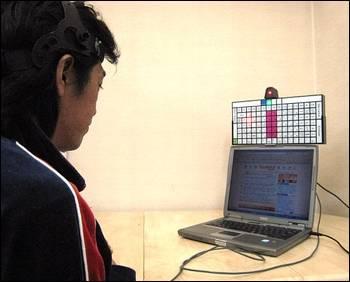 Japonští technologové vyvinuli klávesnici, na které lze psát i bez pomoci rukou.
