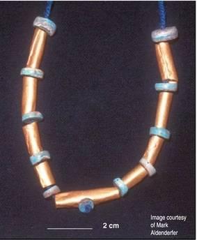 V jižním Peru byl objeven zlatý náhrdelník starý 4000 let.