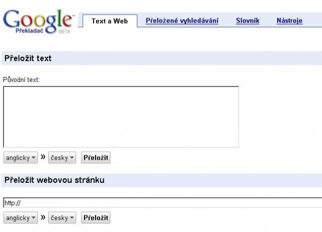 Česky mluvící uživatelé mohou nyní hledat a také číst výsledky vyhledávání ze zahraničních webových stránek ve svém rodném jazyce.