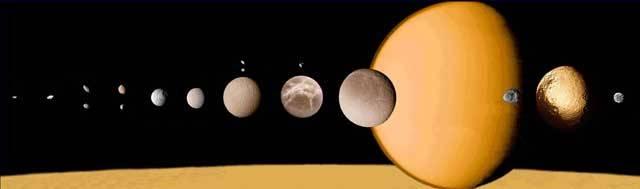 Obří planeta Saturn je ve sluneční soustavě skutečným přeborníkem v počtu měsíců – do dnešních dnů jich astronomové napočítali celých 61! Největší z nich, měsíc Titan, zkoumá už několik let sonda Cassini. Podle posledních zjištění má tento měsíc řadu skutečných zvláštností!