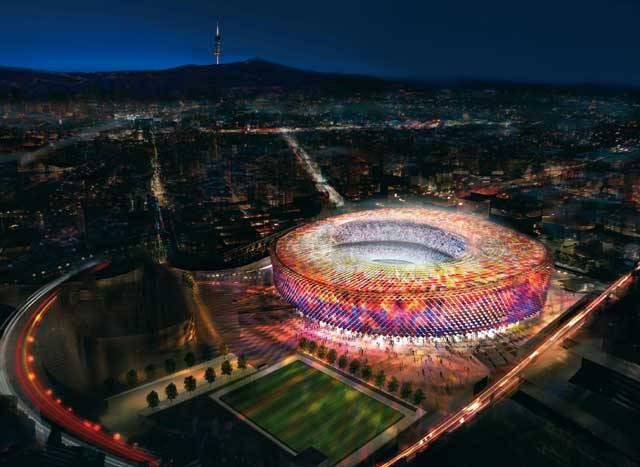 Kdysi se různá města chlubila sakrálními stavbami. V současnosti jsou dominantami leckterých měst sportovní stadiony. O čem to svědčí, to nyní nechme stranou, každopádně výstavba sportovních stánků je jednou z příležitostí, kdy se architekti dokážou pořádně vyřádit. Moderní stadiony jsou doslova technickými zázraky. Pojďme se z 21. STOLETÍM vydat na procházku po některých z nich.