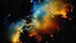 Skryté, leč mohutné zásoby plynu ve vzdálené galaxii
