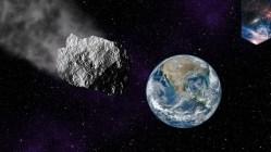 Kolem Země proletěl asteroid