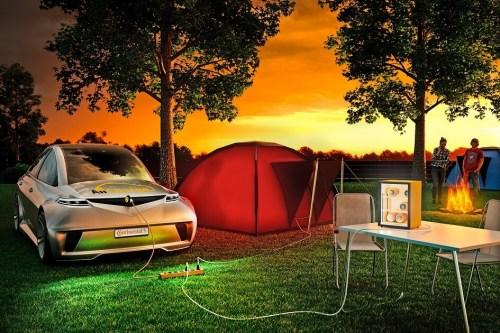 Continental představil novou technologii nabíjení elektromobilů