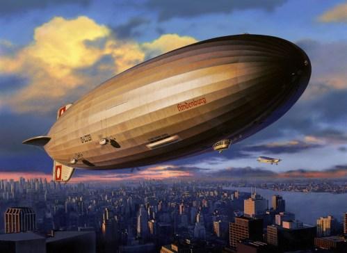 OBRAZEM: Příběh vzducholodi Hindenburg