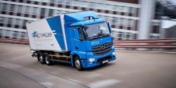 Mercedes-Benz zahájil testy nákladních elektromobilů
