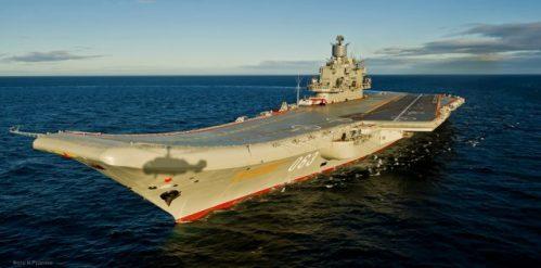 Jedinou ruskou letadlovou loď čeká modernizace