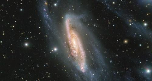 Galaktický klenot chycený na Evropské jižní observatoři