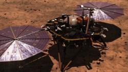 Další sonda ze Země přistála na Marsu