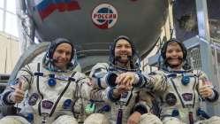 Sojuz se vrací k ISS