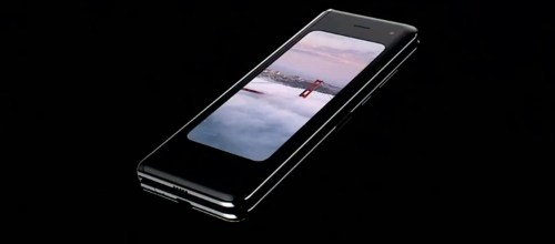 Přichází éra ohebných mobilů