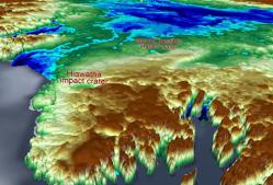 Obrovská struktura nalezena pod grónským ledovcem