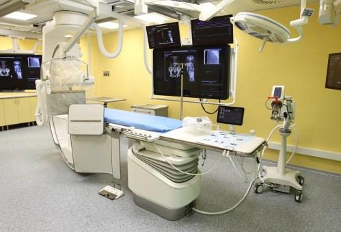 Kardiocentrum FN Královské Vinohrady otevřelo zmodernizovaný sál intervenční kardiologie