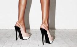 Vysoké podpatky škodí zdraví
