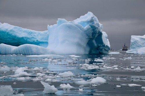 Na Antarktidě bylo teplo. Teploměry ukázaly přes 20 stupňů Celsia