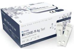 Otestován na Covid snadno a rychle! Testy společnosti Humasis byly povoleny Ministerstvem zdravotnictví ČR