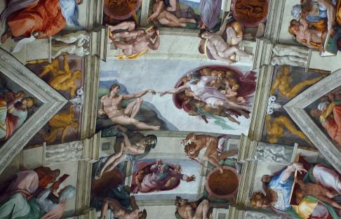 1. 11. 1512: Strop Sixtinské kaple ožívá