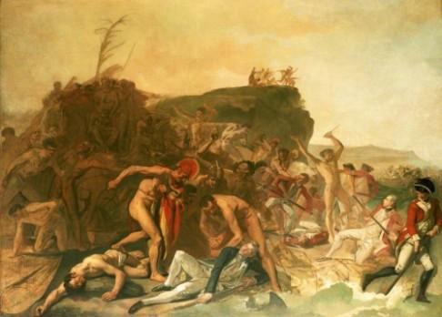 """26.11. 1778: Kapitán Cook prožívá svůj """"Havaj"""""""