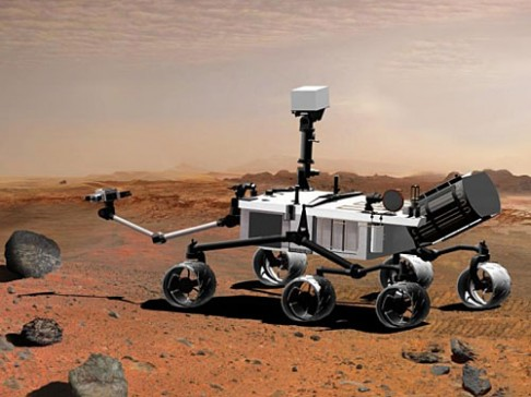 Příští marťanský rover pojede do hor