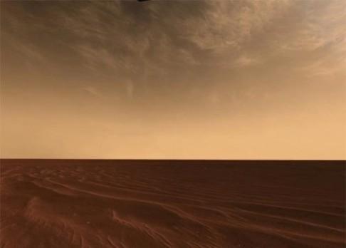 Stvoření oblaků z Marsu