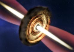 Astronomové objevili mladou těžkotonážní hvězdu v Mléčné dráze