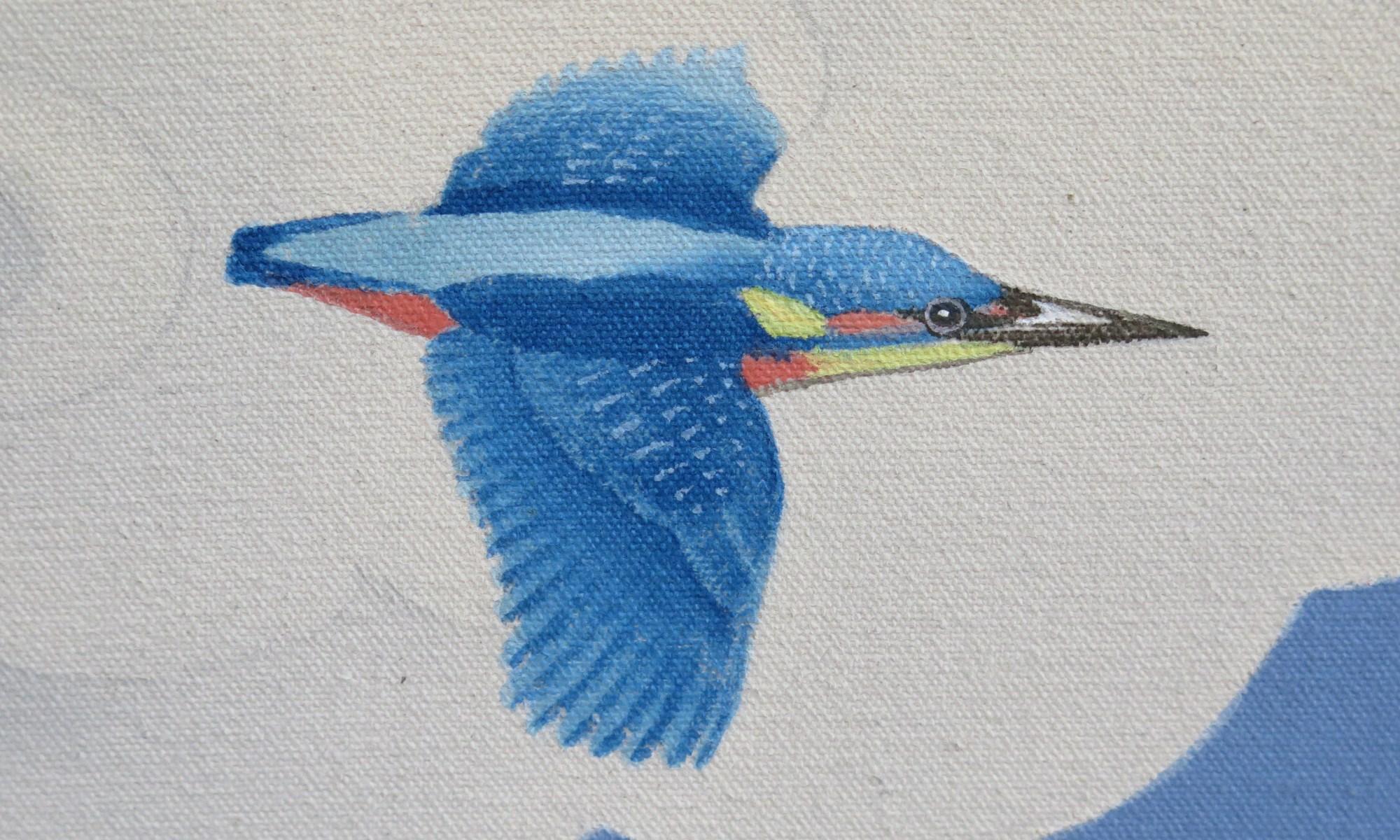 kingfisher detail 21 Taras Thangka