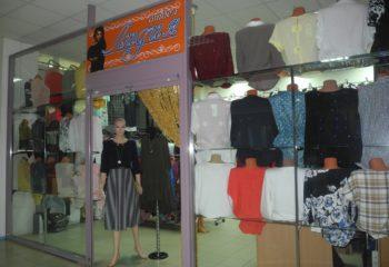 Отдел женской одежды Лидия. Большой выбор платьев, блузок, костюмов, свитеров и блузок.