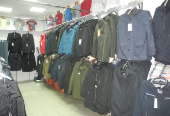 Отдел мужской одежды