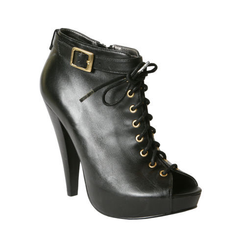 I'm shopping around for fall/winter booties. My sister is lovin' onthese in black by Nine West. I kinda like these lace up booties by Steve Madden. What do you think? Any affordable suggestions?